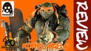 Threezero Tmnt Out of the Shadows MICHELANGELO Review German Deutsch
