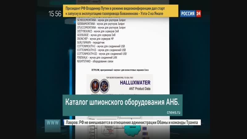 Каталог шпионского оборудования АНБ (NSA equipment leak).ts