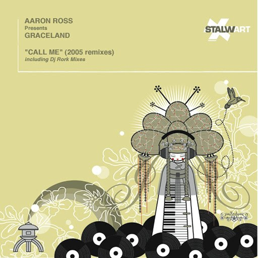 Aaron Ross альбом Call Me (Aaron Ross Presents Graceland) [Dj Rork & Aaron Ross Remixes]