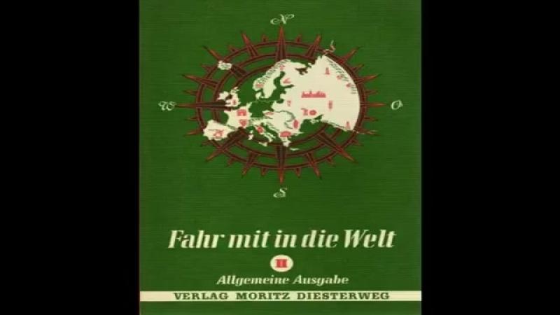 Historisch korrekte Erdkunde-Bücher von 1967