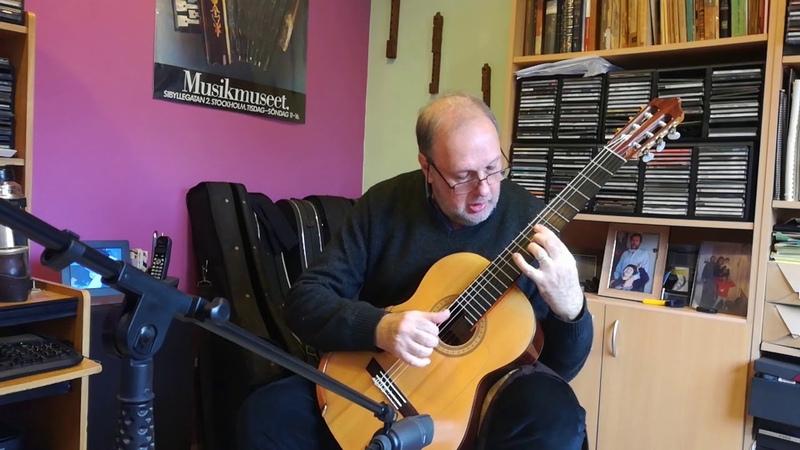 Heitor Villa Lobos 5 Preludes for Guitar. Enrique Bocaccio Guitarra