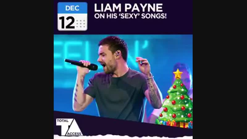 Liam pour @TotalAccessShow, il dit que si il fait des chansons