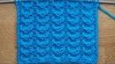 Рельефные дорожки с иммитацией косичек Вязание спицами Видеоурок 272