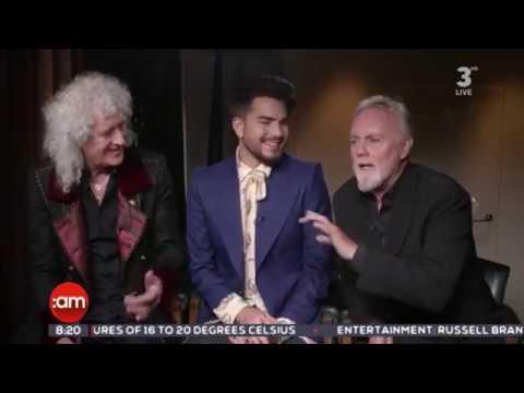 Queen and Adam Lambert interview on I r e l a n d AM 22/06/2018