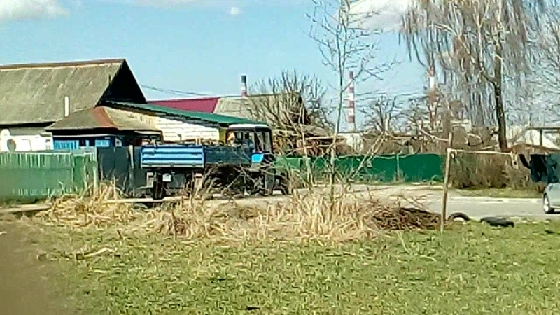МТЗ-82.1 вывоз строительного мусора