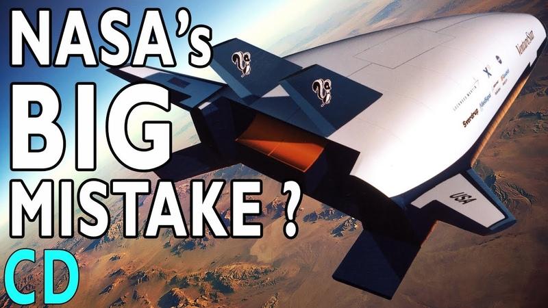 NASA's Big Mistake The X 33 VentureStar Replacement Shuttle