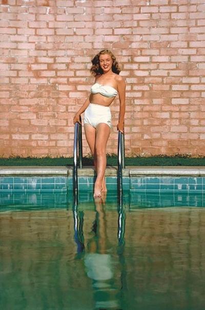 Юная Мэрилин Монро, 1946 г. #снимки_из_прошлого