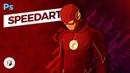 The Flash Illustration Photoshop SpeedArt