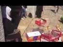 Palestine Israeli occupation municipality assaulted Palestinian vendors at Salah Eddin street and confiscated their goods unde