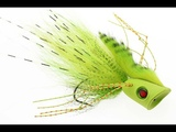 Fly Tying instruction on how to tie the pike popper The Pop Punker