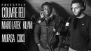 MARO LATEK x MUFASA x KILAM x COCO Freestyle COUVRE FEU sur OKLM Radio OKLM TV