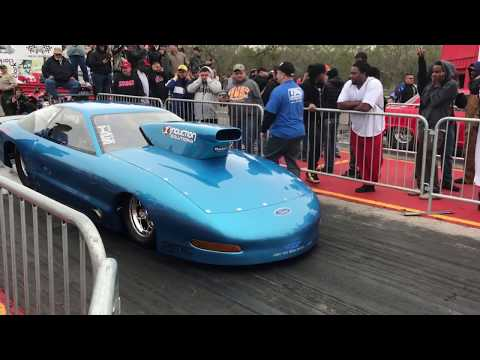 Jerry Bird in the NEW Probe at Streetoutlaws Live 121717