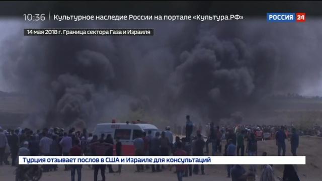 Новости на Россия 24 • Кровопролитие в Секторе Газа: Европа и США поддерживают непримиримых противников