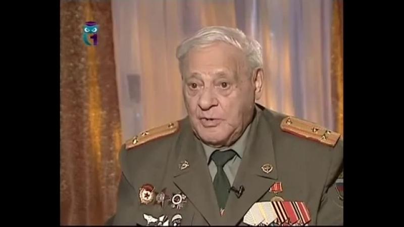 Леонид Некрасовский вспоминает свою боевую юность, начавшуюся в истребительном батальоне