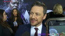 James McAvoy arrives at the Glass premiere in NYC