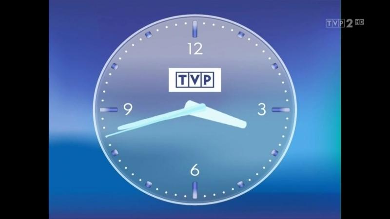 Фрагмент рекламного блока и конец эфира (TVP2 HD [Польша], 20.05.2018)