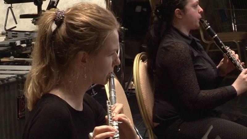 Оксана Корниевская (меццо-сопрано). Московский симфонический оркестр имени Гнесиных.