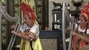 Комический дуэт арфисток - Electro harp duet with the people's bloc Russian dolls