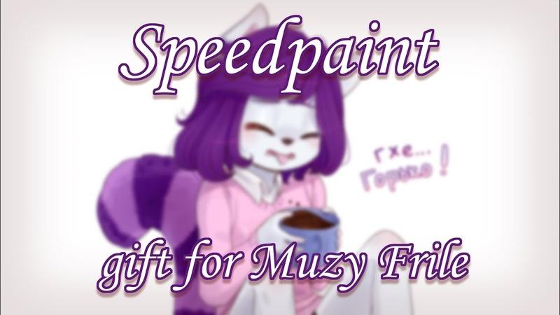 Speedpaint - gift for Muzy Frile