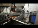 Industrial Wafer Cone Making Machine Video in Indonesia