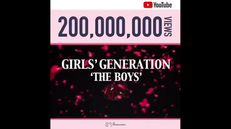 소녀시대 The Boys' MV 유튜브 조회수 2억뷰 돌파 I GOT A BOY' Gee'에 이은 세 번째 2억뷰 달성을 진심으로 축하하고 앞으로 소녀시대 смотреть онлайн без регистрации