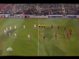 Финал ЛЧ-2002 начался с минуты молчания в честь Валерия Лобановского