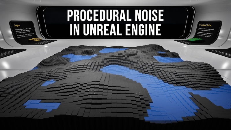Procedural Perlin Noise Blueprint in Unreal Engine