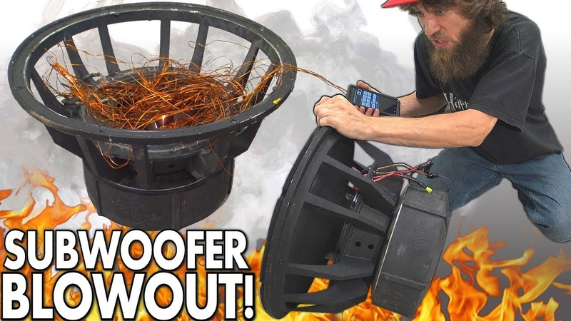 Blowing $8000 Worth of SUBWOOFERS!?! The BIGGEST Subwoofer BLOWOUT EVER w/ Rare 18 SPEAKER BLOWOUTS