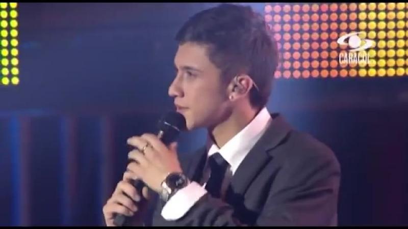 Золотой голос 23 летнего финалиста шоу Голос Колумбия Андре Парра с песней И появился кто то другой The Voice La Voz