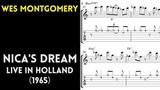 Wes Montgomery - Nica's Dream Transcription (Live 1965)