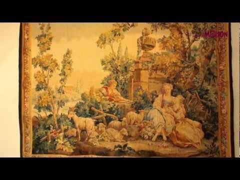 Tapis et tapisseries d'Aubusson Robert Four
