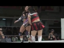 Dark Angel Sarah Stock vs Ÿuhi .2013. Womens Wrestling 日本 中文