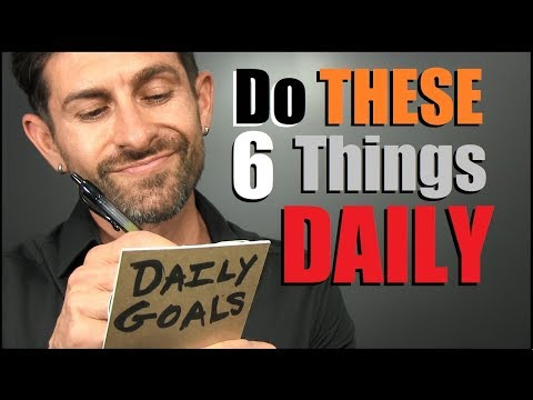 6 Things Men Should Do DAILY To Be MORE Confident