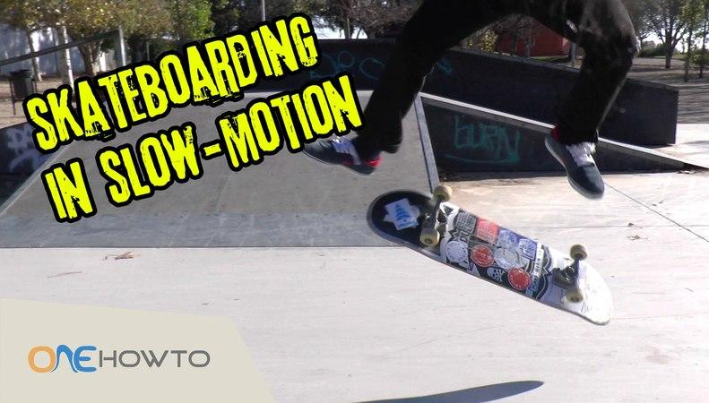 Slow Motion Skate Tutorial: Skateboarding Tricks for Beginners