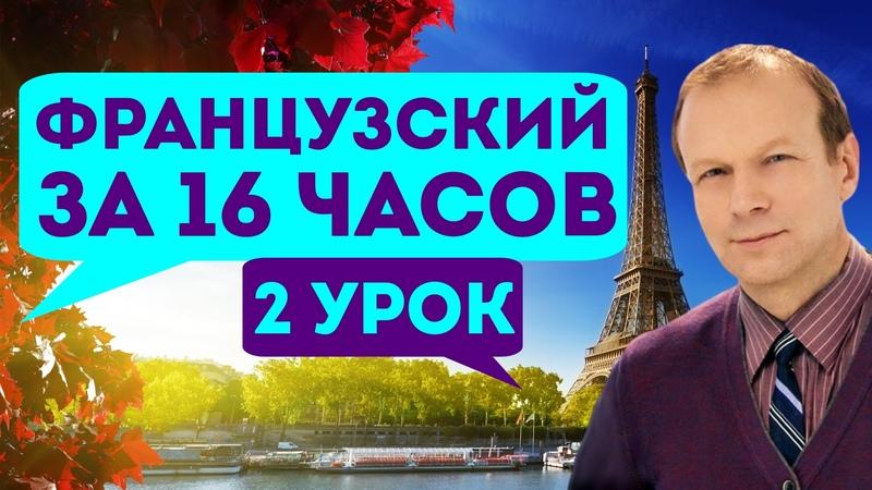 Полиглот французский за 16 часов Урок 2 с нуля Уроки французского языка с Петровым для начинающих