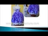 falda de capa con pliegues y frunce1
