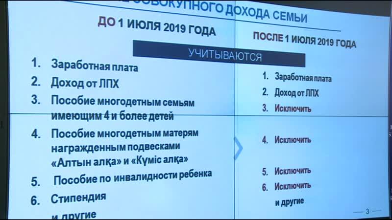 Көп балалы отбасыларды әлеуметтік қорғау туралы Сапарбаев