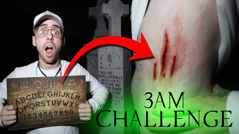 (ZOZO) BREAKING ALL THE RULES OF THE OUIJA BOARD IN CEMETERY! 3 AM CHALLENGE OUIJA BOARD GONE WRONG!