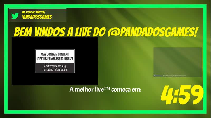 LIVE DO PANDA DO ZERG DA DC ESO ESOBR QUARTADAQUALIDADE - PVP de Mundo aberto!