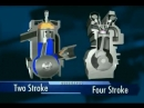 Двух и четырехтактный двигатель