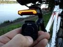 тест фонаря с пультом управления
