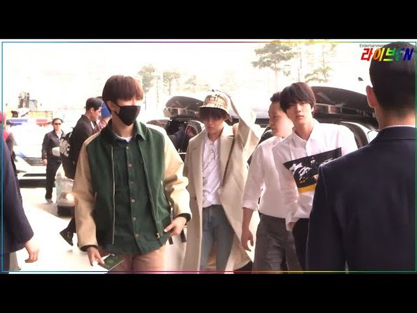 180413 BTS (방탄소년단) at Gimpo Airport Heading to Japan for Face Yourself Handshake Event