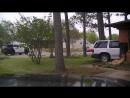 Взрыв после аварии в Техасе