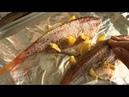 Окунь морской запекаем в фольге с лимоном и специями