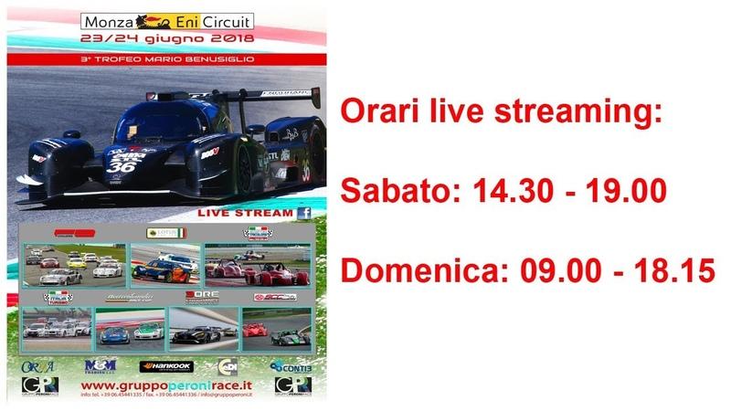 Gruppo Peroni Racing Weekend - Monza Sabato 23 giugno