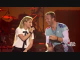 Coldplay Shakira A Sky Full of Stars - Live at Global Citizen Festival Hamburg
