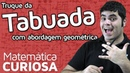 TRUQUE Tabuada de Multiplicação com Abordagem Geométrica Matemática Rio