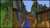 How to make a Minecraft RAVINE Town!