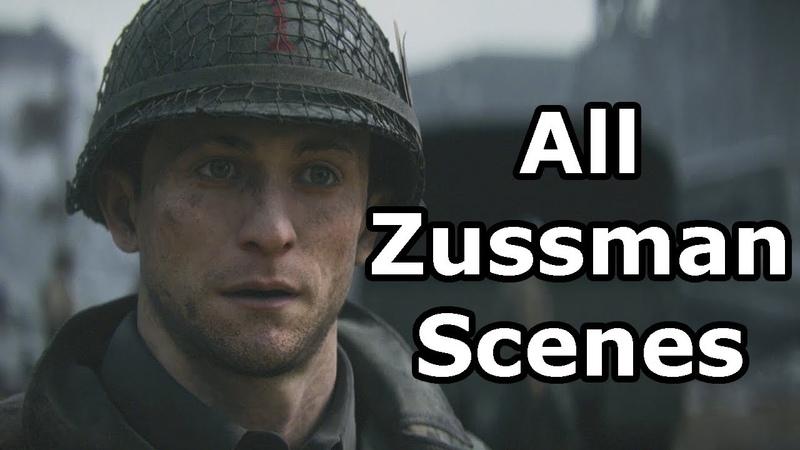Call Of Duty WW2 - All Zussman Scenes