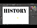 How to wrap a single word around the perspective grid planes in adobe illustrator hikeart